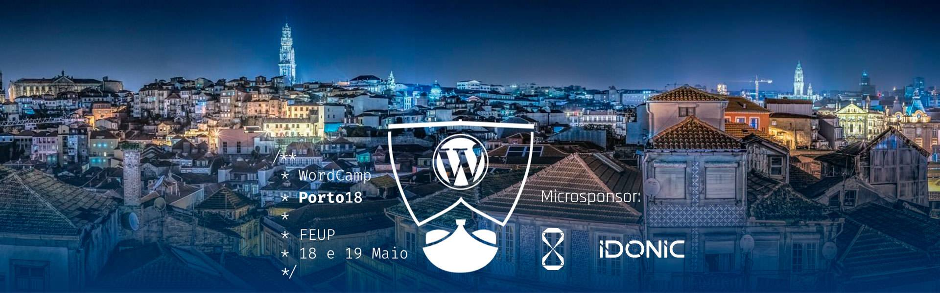 idonic-word-camp-porto-2018, WordCamp 2018