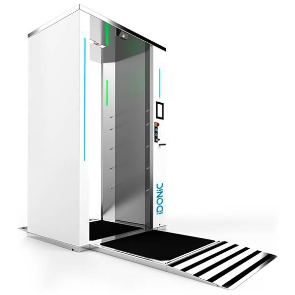 IDONIC-PURE-GATE-P-1 Túnel de Desinfeção