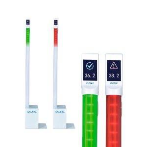 IDONIC THERME CONTROL - Quiosque de Verificação de Temperatura